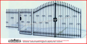 Wrought Iron Door/ Iron Gate (SK-5635) pictures & photos