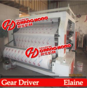 High Quality 4 Color Non Woven Bag Printing Machinery pictures & photos