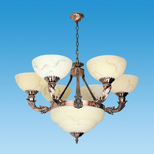 Modern Cooper Glass Ceiling Lamp pictures & photos