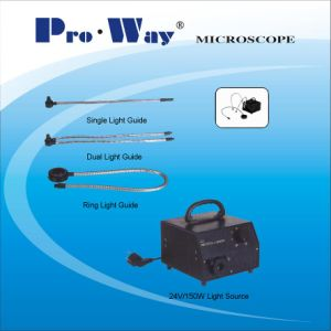 Microscope Accessory Cold Light Source & Optical Fiber Light Guide pictures & photos