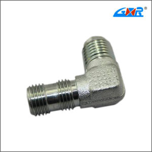 90 Degree JIS Gas Male 60 Degree Cone Bsp Male O-Ring Hose Connector pictures & photos