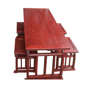 Chinese Antique Furniture Wooden Painted Table Lwd370 pictures & photos
