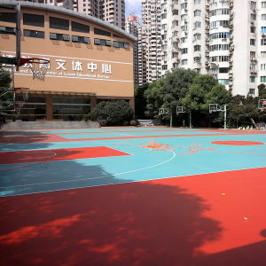 Cn-S04 Environmental Protection Spu Crystal Basketball Court Flooring pictures & photos