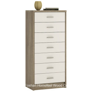 Effortless High Gloss Bedroom 7 Drawer Dresser Chest (HC26) pictures & photos