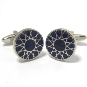 High Quality Fashion Metal Men′s Cufflinks (H0050) pictures & photos