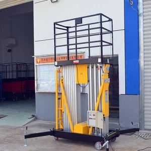 Dual Masts Aluminum Aerial Work Platform (Max Height 10m) pictures & photos