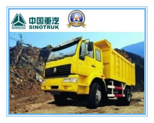 266HP HOWO 4X2 Mining Tipper Truck pictures & photos