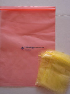 Anti Static Transparent Plastic PE Zip Lock Bags for Electronic Goods pictures & photos