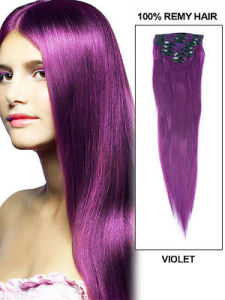 Vielt Color Brazilian Human Hair Clip in Hair Weave pictures & photos