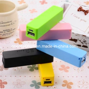 2600mAh Mini Cute Perfume Fragrance External Battery Power Bank for iPhone, Samsung Mobile Phone