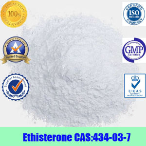 Ethisterone Estrogen Raw Steroids Powder 99% Purity CAS No.: 434-03-7 pictures & photos