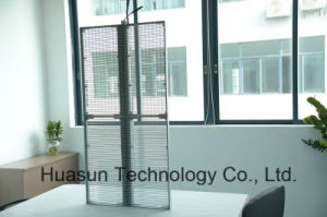 Glass LED Transparent LED Display|Glass LED Display Manufacturer P6 pictures & photos