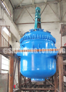 Steam Heating Glass Lined Reactor (k TYPE) pictures & photos