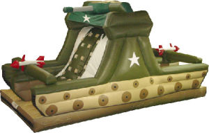 New Inflatable Tank Slide (SL-03an) pictures & photos