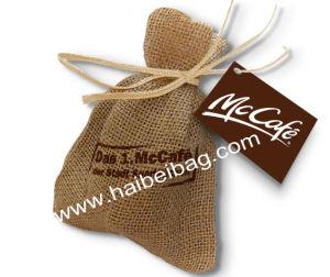 Custom Drawstring Jute Bag, Burlap Shopping Bag, Hemp Tote Bag, Jute Pouch pictures & photos