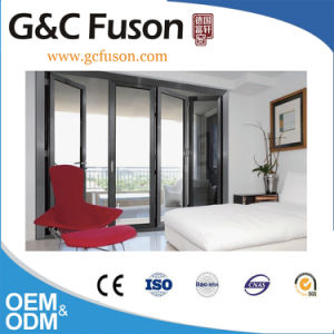 Internal Folding Glass Door with up and Down Roller pictures & photos