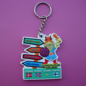 Promotional Country Friendship Soft PVC Keychain (ASNY-KC-TM-055) pictures & photos