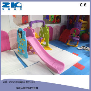 2016 Happy Slide Toy Indoor Plastic Kids Slides with Stable Base pictures & photos
