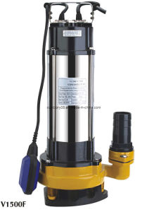 CE Approved 304/316 Ss Submersible Pump V1500f (WQ6-22-1.5) pictures & photos
