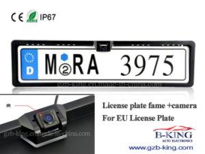 EU Car License Plate Frame Rear View Camera pictures & photos
