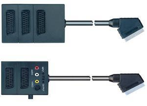 Scart Cable, Scart Splitter (SC078) pictures & photos