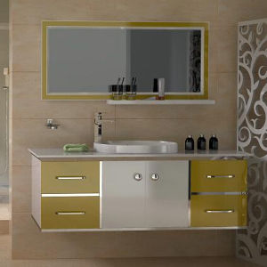 Metal Lacquer Bathroom Vanity