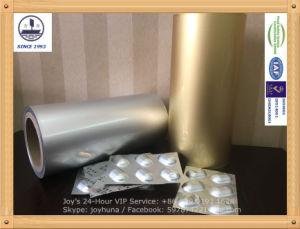 Alloy 8021 Pharmaceutical Alu Alu Bottom Foil for Packaging Pills pictures & photos