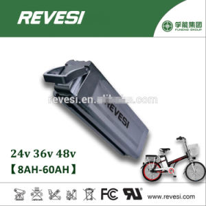 Silver Fish 48V 10ah Li-ion Battery Pack for E-Bike Aluminum Case pictures & photos