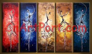 Group Abstract Paintings (APOR0008)