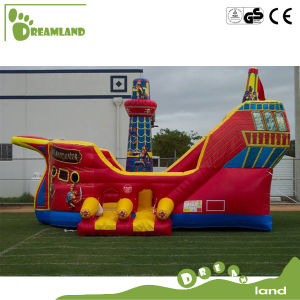 Interesting Customized Interesting Inflatable Bouncer Pirateship for Kids pictures & photos