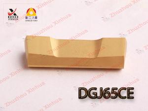 Carbide Grooving Insert (DGJ65CE) pictures & photos