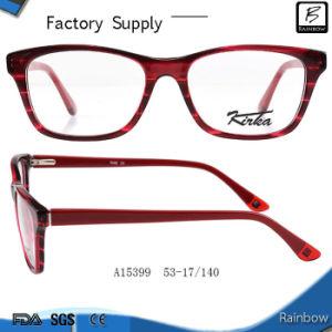 Colorful Stripe Hand Made Optical Frames Eyeglasses (A15399)
