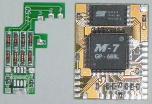 PS2 Modchips (M-7, Messiah750, GP-688L)