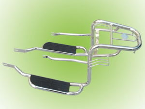 Luggage Rack with Foot Peda (WY125, HONDA 125)