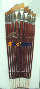 Nylon / Bristle Paint Brush with Wooden Handle pictures & photos