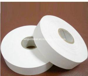 Coated Nylon Taffeta Barcode Fabric Label (NT30D-310)