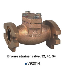 Non Pb/Non Lead/Lead Free Bronze Strainer Valve for Water Meter (V92014) pictures & photos