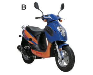 Elegant 50cc/125cc Gas Scooter (YY50QT-21B)
