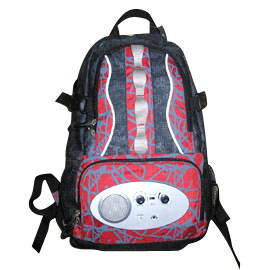 Radio Sports Backpack Bag