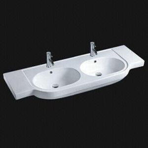 Rectangle Ceramic Washbasin, Bathroom Cabinet Wash Basin pictures & photos