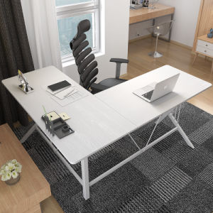 Home Furniture L-Shaped Desk in Wooden pictures & photos