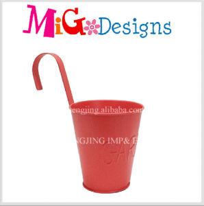 Home Garedn Iron Metal Hanging Handles Flower Pot pictures & photos