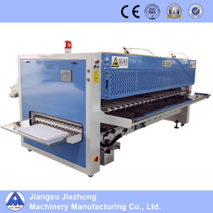 Hotel Use Fully-Automatic Industrial Laundry Washing Sheets Folding Machine pictures & photos
