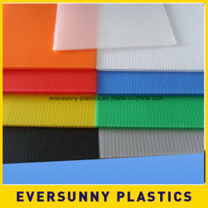 Coroplast PP Material Corrugated Correx Plastics Sheet pictures & photos