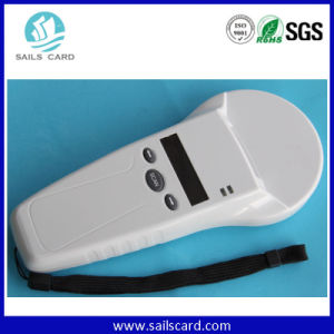 ISO 11784/785 134.2kHz Handheld Animal Microchip RFID Reader pictures & photos