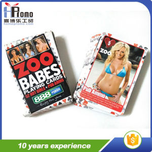 Poker Cards with Sexy Girls pictures & photos
