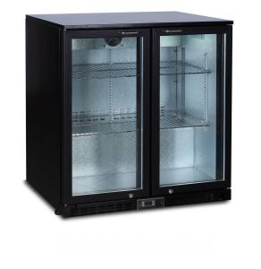 Back Bar Beer Cooler, 2 Door Beverage Glass Chiller Bg-208h pictures & photos
