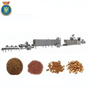Stainless Steel Large Capacity Fish Feed Extruder Machine