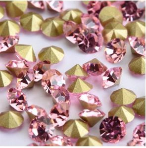 Pink Chatons Stones Strass Beads pictures & photos