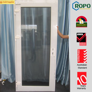 White Color Plastic Frame Security Doors and Windows pictures & photos